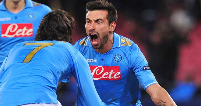 Ezequiel Lavezzi: On his way out of Napoli in a big-money agreement with PSG