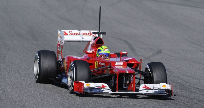 The F2012 was off the pace during first three days of pre-season testing