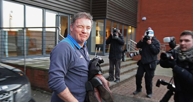 Ally McCoist: Rangers manager is set to meet the club's administrators on Thursday