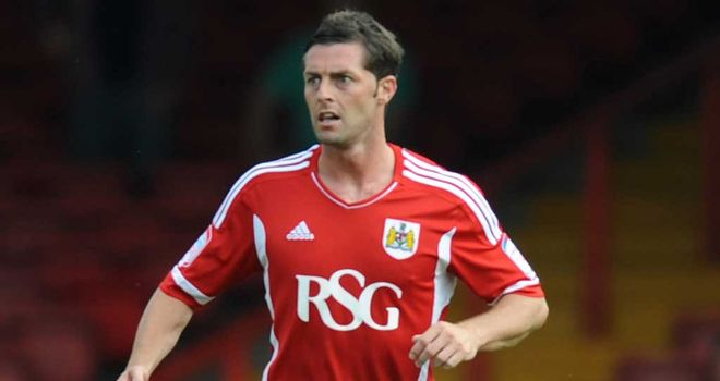 Jamie McAllister: Bristol City defender would prefer to push for promotion but is relishing survival scrap