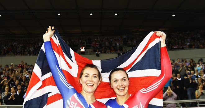 Jess Varnish and Victoria Pendleton: Struck gold with a world record display