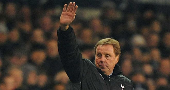 Harry Redknapp: Tottenham manager has been praised by FA chairman David Bernstein