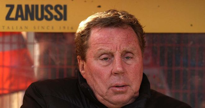 Harry Redknapp: Admitted the performance against Stevenage would not have impressed the onlooking David Bernstein