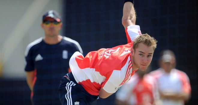 Stuart Broad: Hopes a number of exciting England players will be able to show their quality