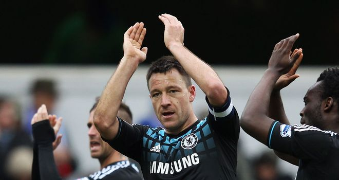 John Terry: Chelsea and England defender expects to be back in time for the run-in