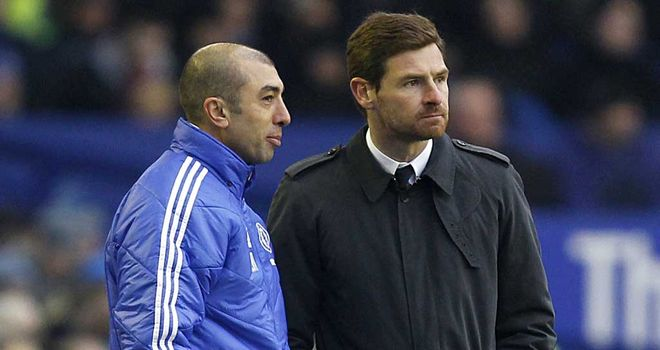 Roberto Di Matteo: Rejected claims that he conspired against Andre Villas-Boas