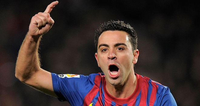 Xavi: Wants to stay at Barcelona