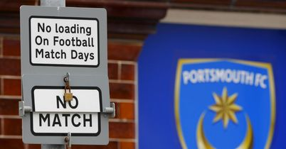 Portsmouth: Forced to train at Fratton Park