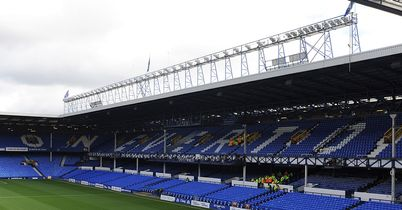Goodison Park: Johan Hammar has been unable to force his way into the first team fold at Everton