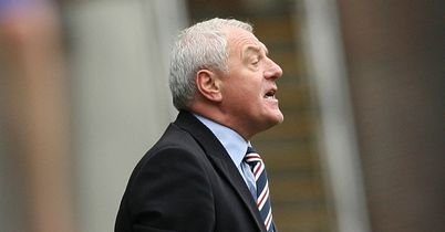 Ally McCoist: 'I'm really pleased that Walter is back.'