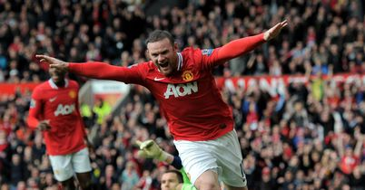 Rooney: Leads the attack