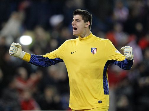 Thibaut Courtois: Returns to Atletico on loan