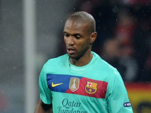 Eric Abidal: Sends Vilanova support