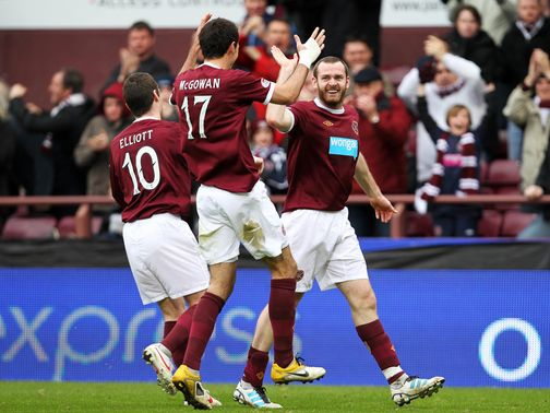 Craig Beattie: Opted for Tynecastle move