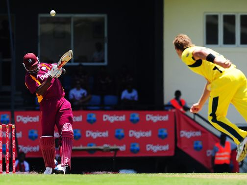 Kieron Pollard: Explosive innings for the hosts
