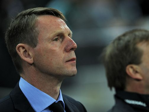 Pearce: Impressed with his side's efforts against Sweden