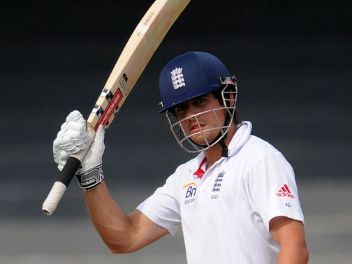 Alastair Cook: Looking for series success