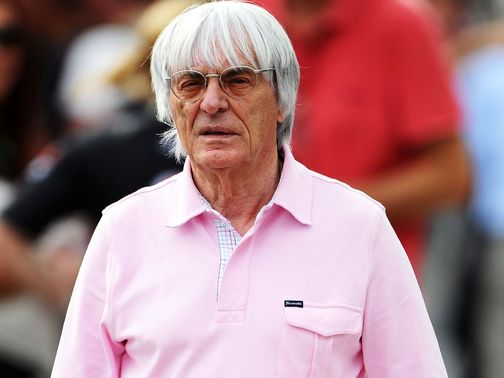 Ecclestone: Thinks 2013 is too late for Scorpion Racing