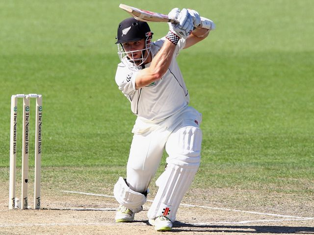 Kane Williamson: Hit 128 at Derby