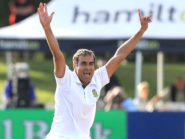 Imran Tahir: Finished with four wickets