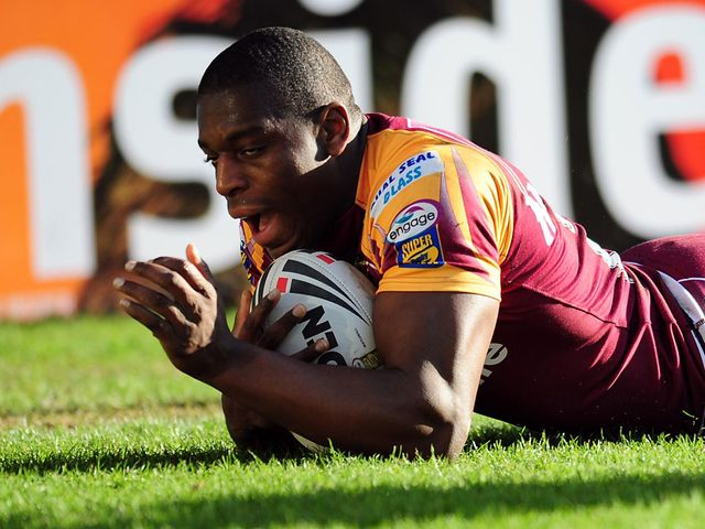 Jermaine McGillvary: Great finish for one of Huddersfield's tries