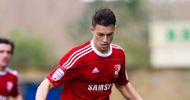 Billy Bodin: Forward hopes to use his loan spell at Crewe to earn a new contract at Swindon