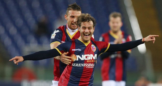 Alessandro Diamanti: Curled home a free-kick to win the game for Bologna