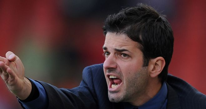 Andrea Stramaccioni: Has stepped up from youth team role into the top job
