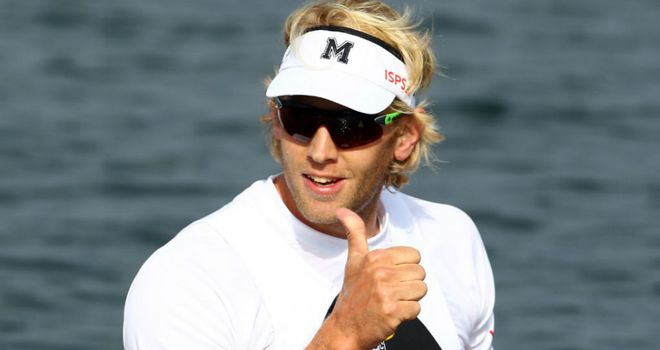 Andy Triggs Hodge: The GB rower was one of the surprise changes after moving from the pairs to the men's four.