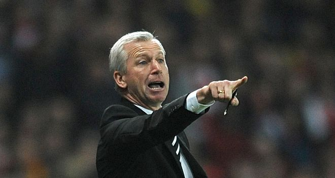 Alan Pardew: Focused on securing a strong finish with Newcastle