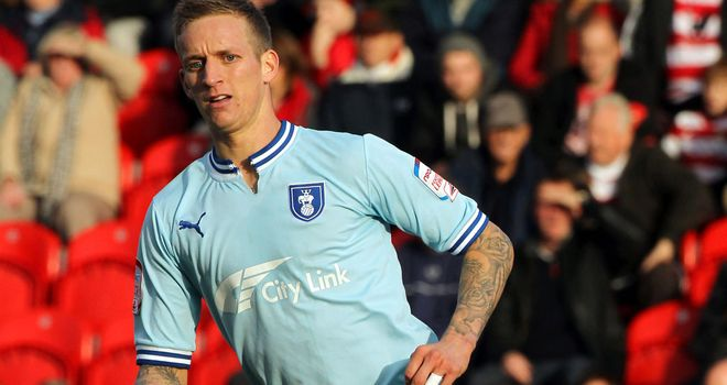 Carl Baker: Coventry City midfielder could be out for five weeks with a hamstring injury