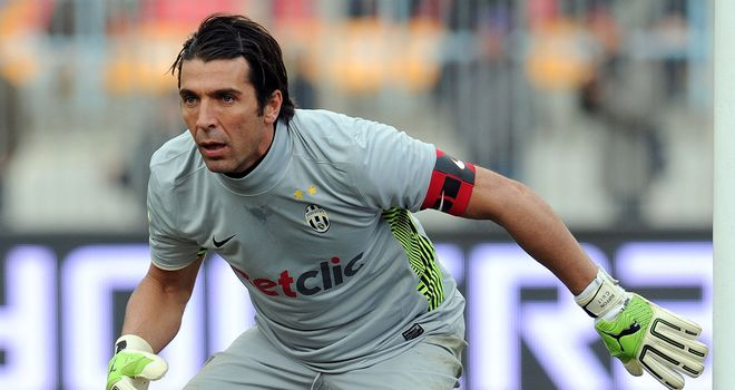 Gianluigi Buffon: Says he will play on at Juventus as long as he is competitive