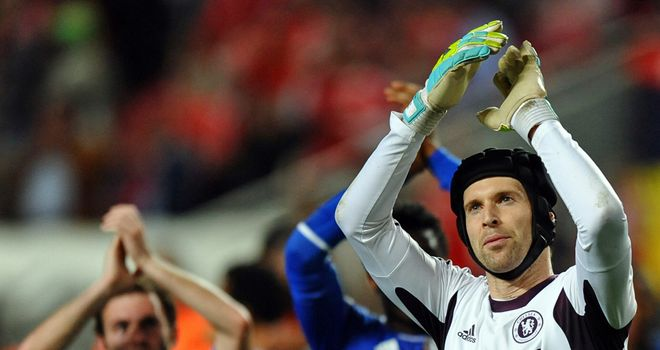 Petr Cech: Chelsea goalkeeper delighted to commit his future to the Blues