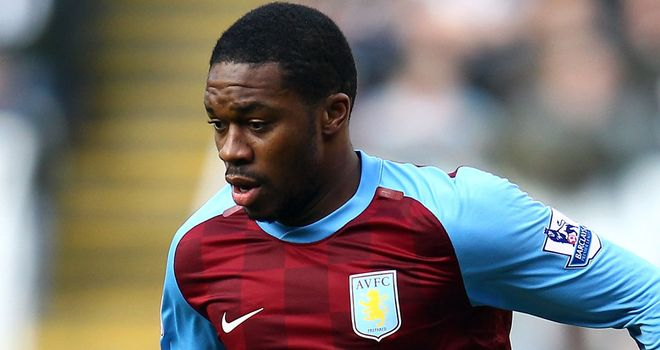 Charles N'Zogbia: Aston Villa winger is to see a specialist in Paris about a knee injury