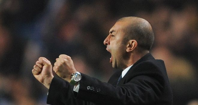 Roberto Di Matteo: Believes Chelsea can roar to victory at Manchester City on Wednesday