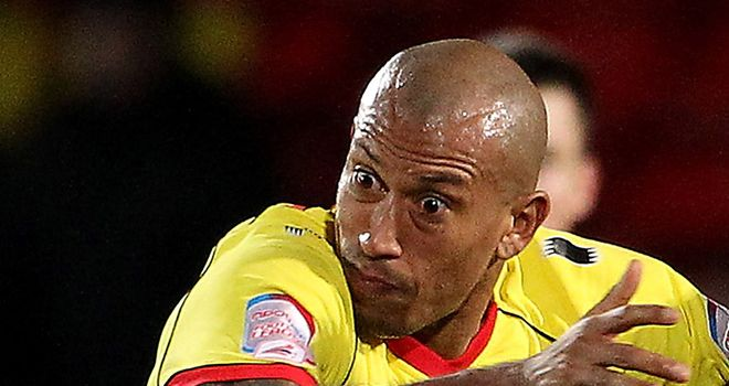 Chris Iwelumo: On the move north to join Oldham in loan deal