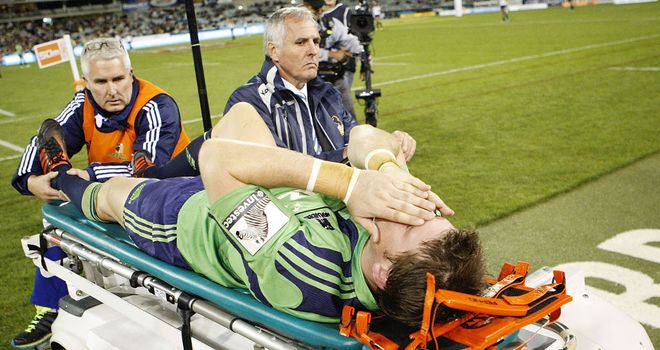 Colin Slade: Suffered a broken leg against the Brumbies