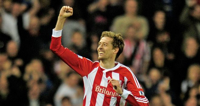 Peter Crouch: Believes Stoke get unfairly criticised but does not mind the complaints