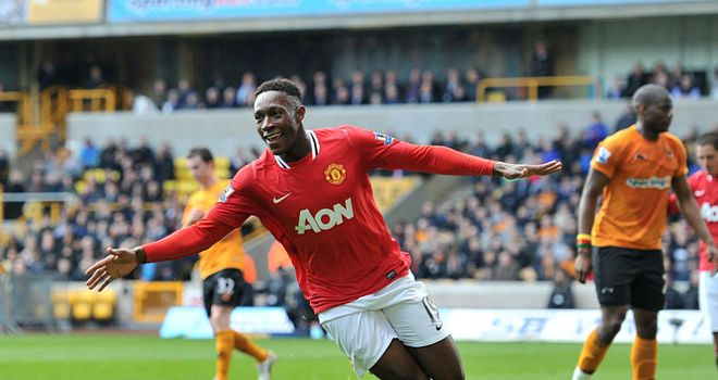 Danny Welbeck: The Manchester United striker is hoping to replace Wayne Rooney for the opening Euro 2012 games
