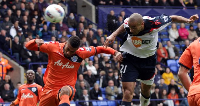 Darren Pratley: Scoring his first Premier League goal against QPR