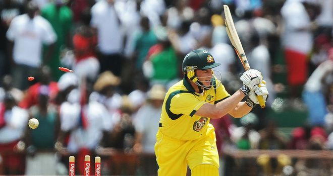 David Hussey: Aiming to break into the Test team