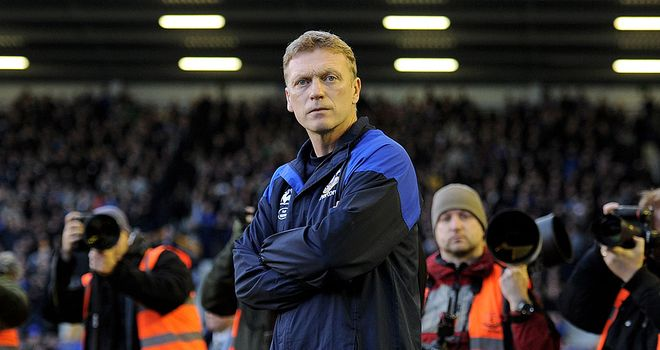 David Moyes: Believes his Everton side will have the backing of the country to win