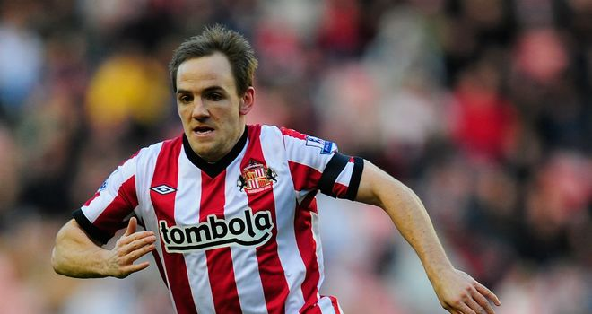 David Vaughan: Sunderland midfielder has recently recovered from a hernia operation