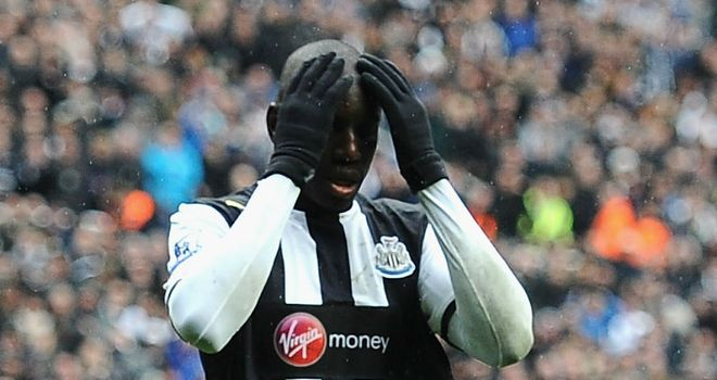 Demba Ba: Has not scored in seven games for Newcastle