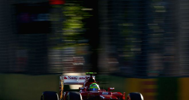 Felipe Massa: Starts 16th on the grid for the Australian Grand Prix