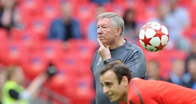Sir Alex Ferguson: Manchester United boss has paid tribute to Dimitar Berbatov