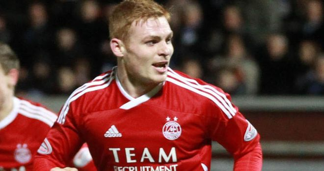 Fraser Fyvie: Played regularly at Aberdeen and is looking to force his way into the Wigan side