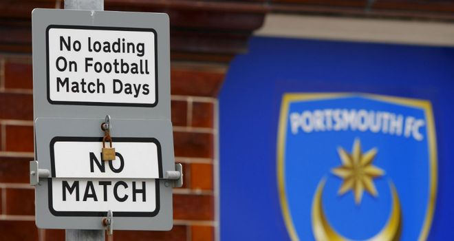 Portsmouth: Fratton Park club could be closed down on 10th August