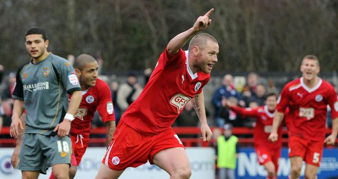 Alexander: At the double for Crawley