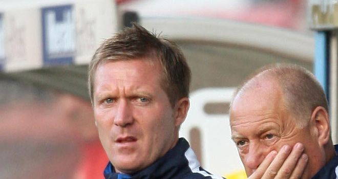 Gary Locke (left): 'I think we can be pretty positive about the second half'